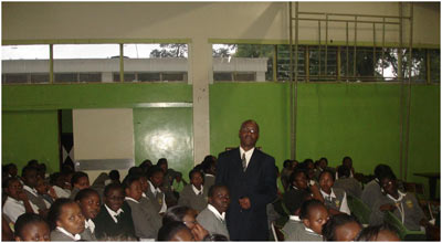 Conducting Breast Disease Awareness campaigns at Barazas?, schools and colleges